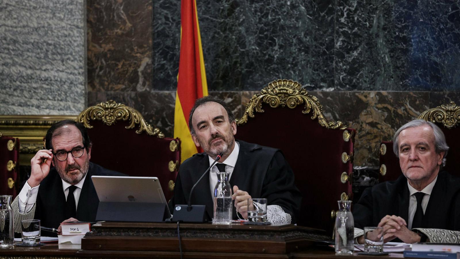 El president del tribunal del Procés, el magistrat Manuel Marchena.