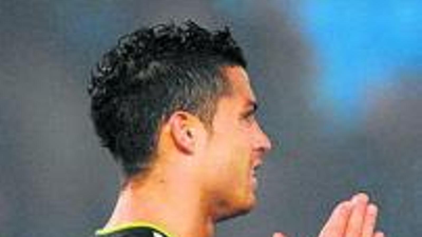 Ronaldo es lamenta en una acció d'ahir. / DENNIS DOYLE / GETTYI MAGES