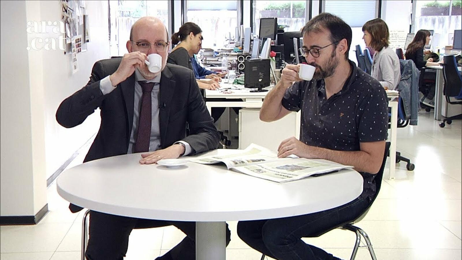"""El cafè de la Lliga: """"Això del Barça és una crisi existencial"""""""