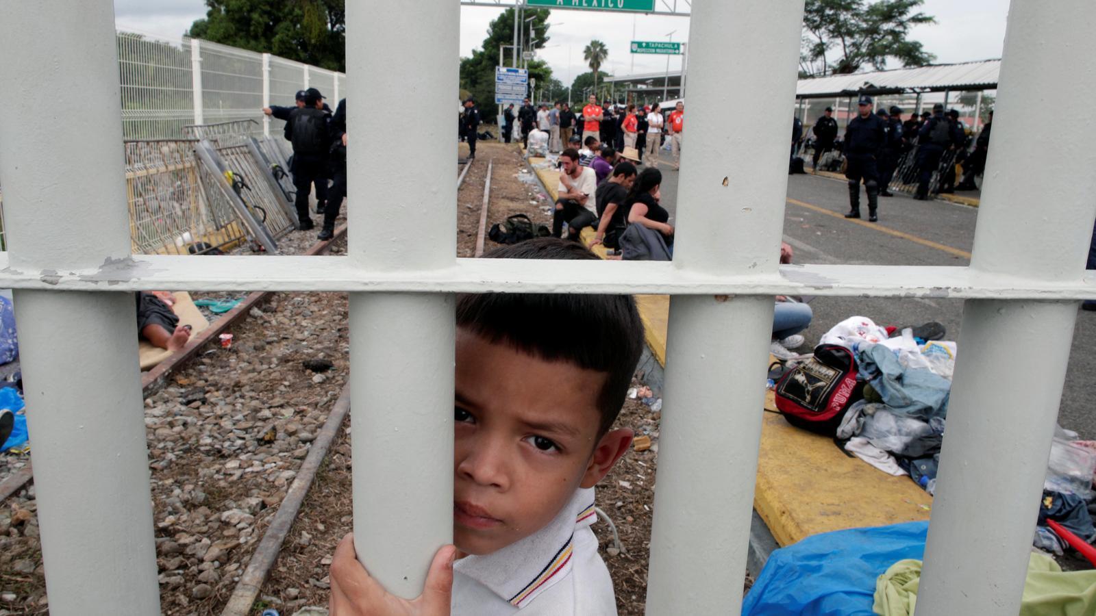 La caravana de migrants camí dels EUA.