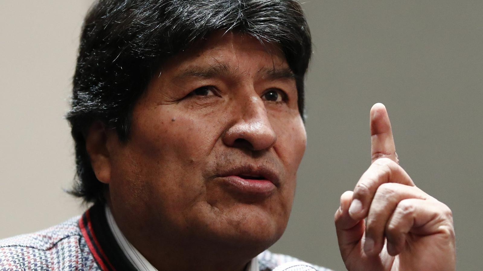 Evo Morales marxa de Mèxic i es trasllada a Cuba