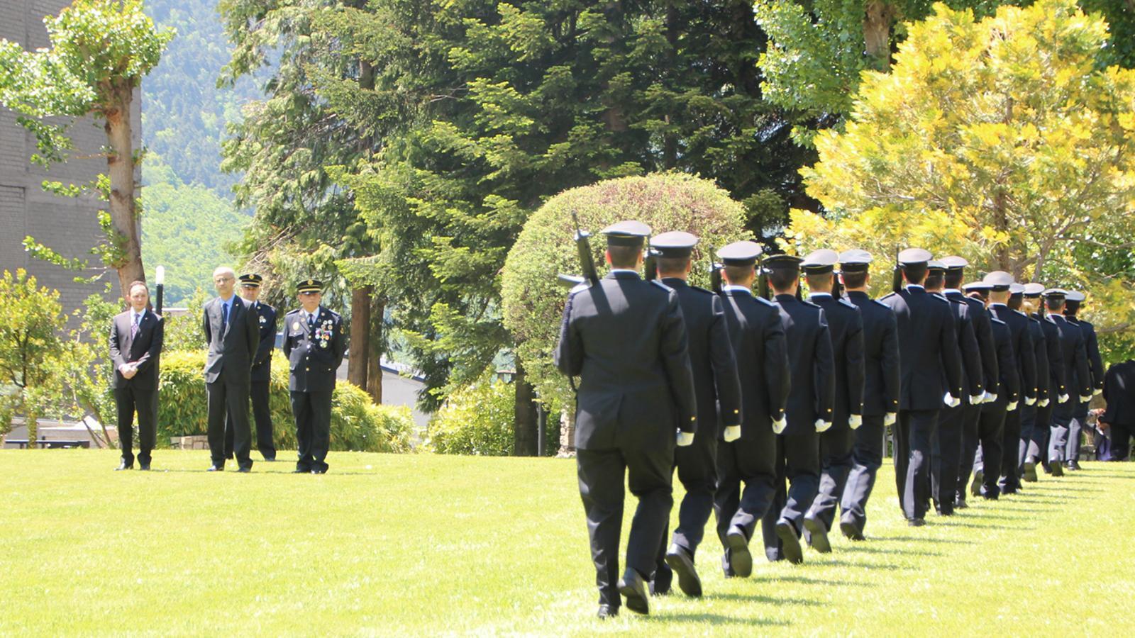 Celebració del Dia de la patrona del Cos de Policia / M.F. (ANA)