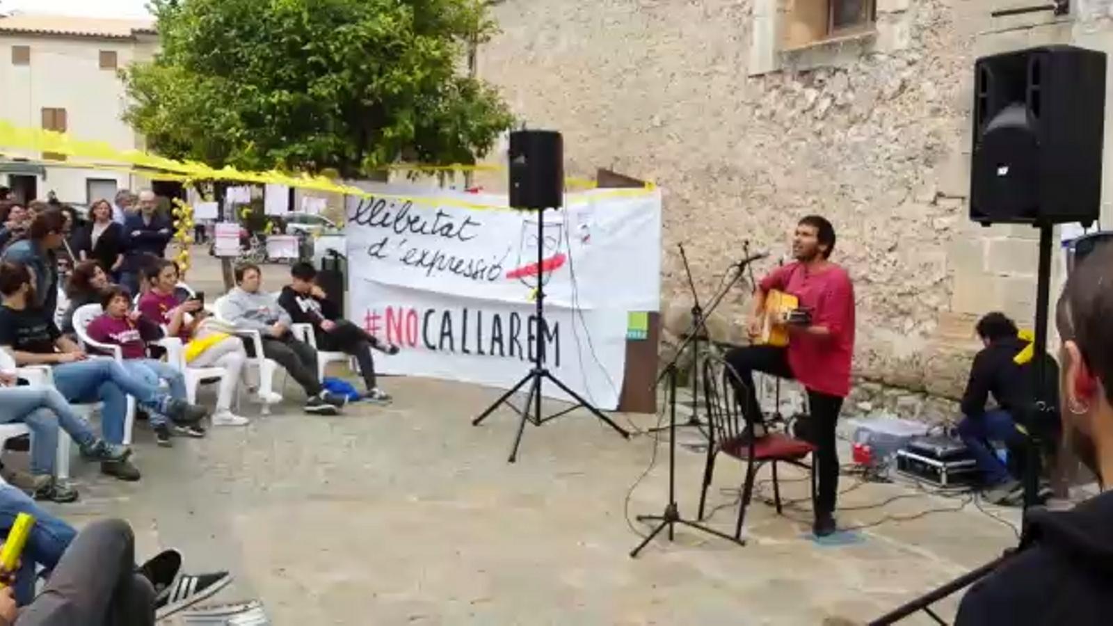 Comencen els concerts a Pollença, amb el lema 'No callarem!'