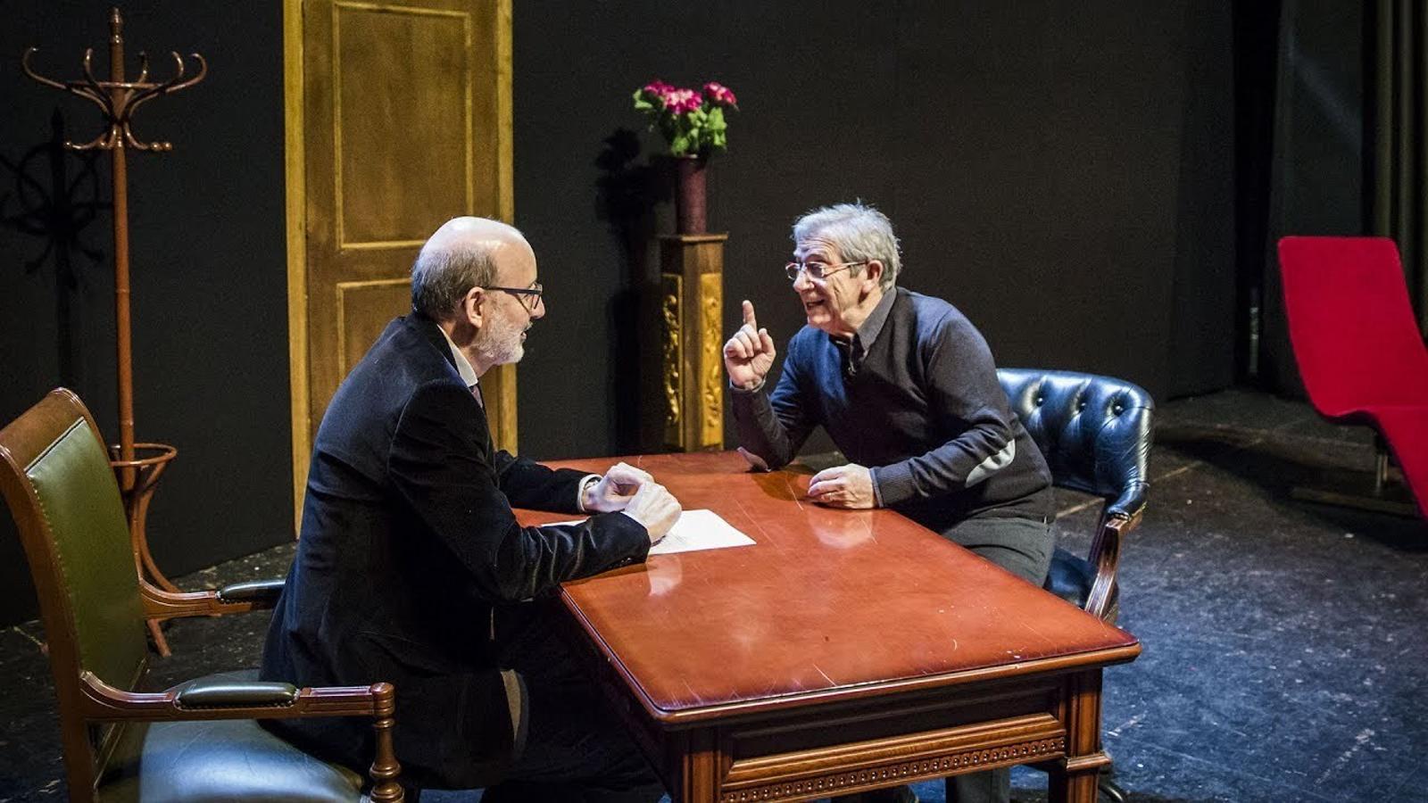 Entrevista d'Antoni Bassas a Joan Pera