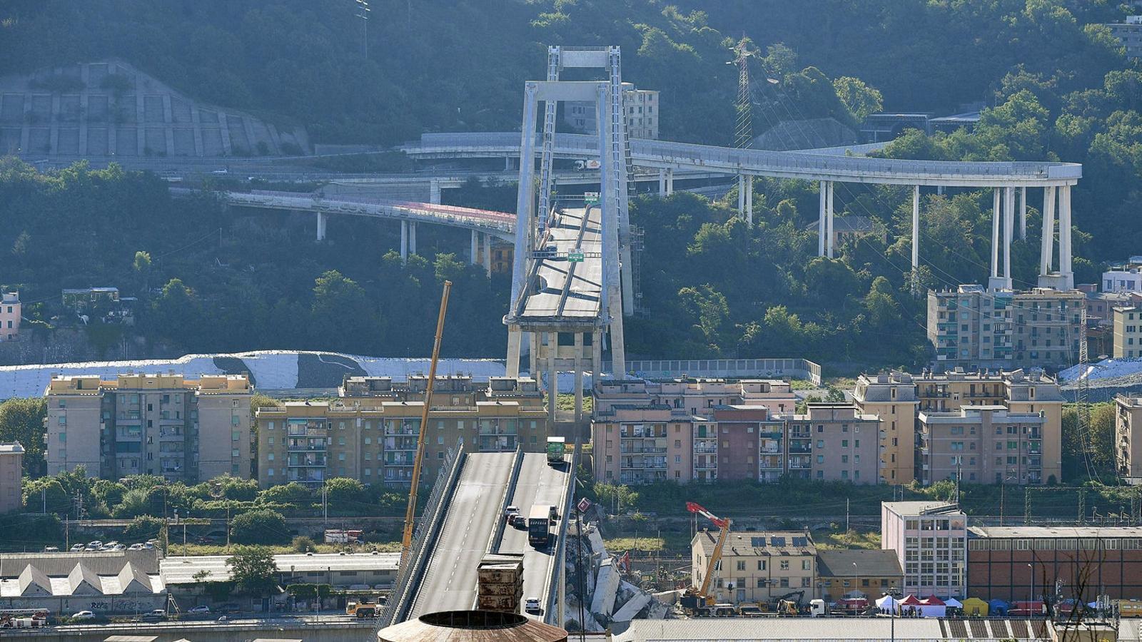 Itàlia vol retirar la concessió a Autostrade