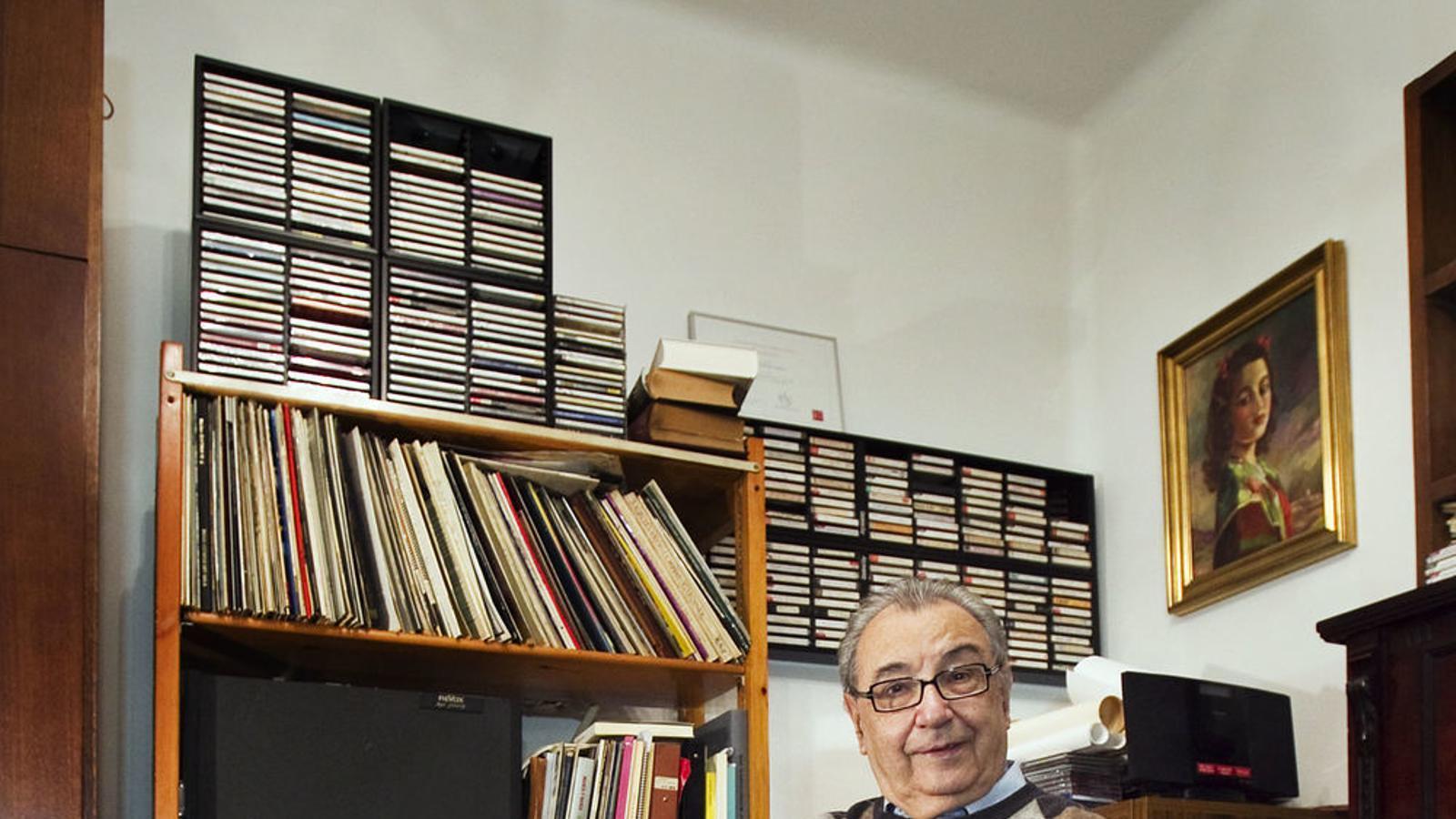 Guinjoan, pilar indiscutible de la música de creació a Catalunya