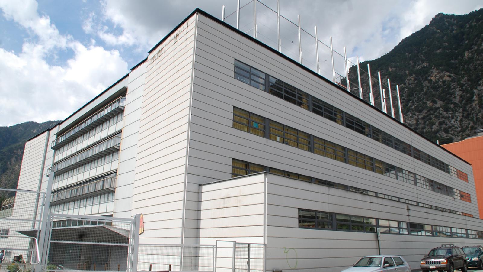 Estat actual de l'edifici que serà reformat. / Arxiu ANA