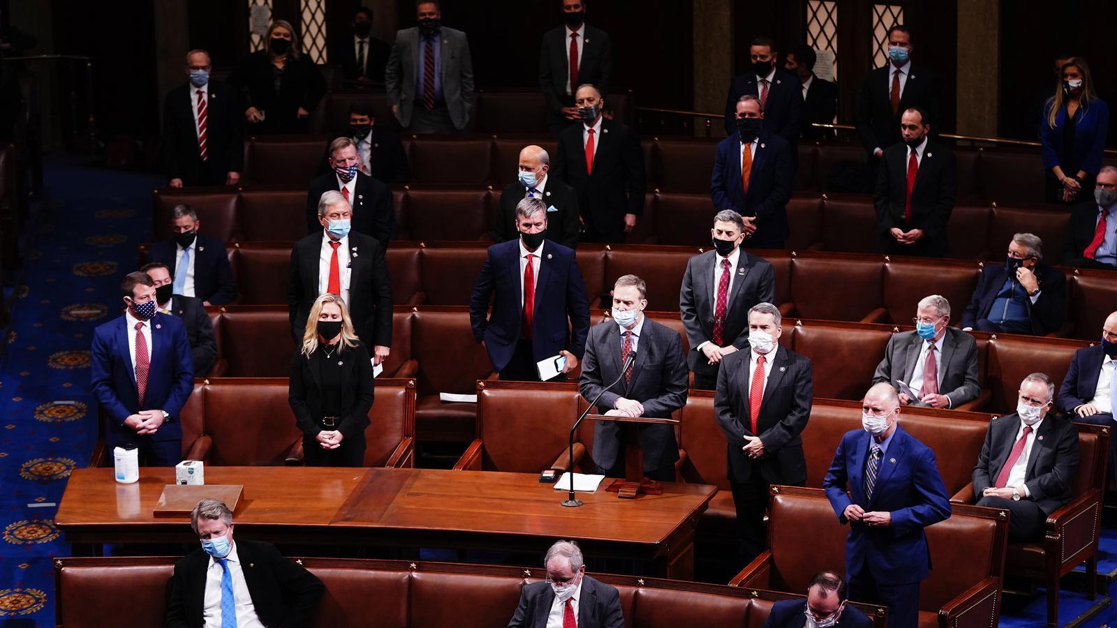 EN DIRECTE | La sessió al Congrés dels EUA