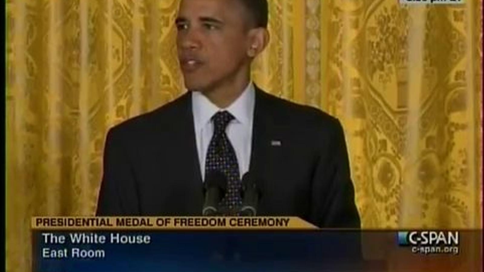 Obama fa referència als camps nazis com a camps d'extermini polonesos