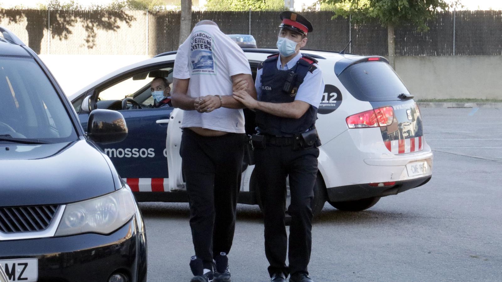 Un dels detinguts en l'operatiu de fa dues setmanes contra la trama de tràfic de marihuana