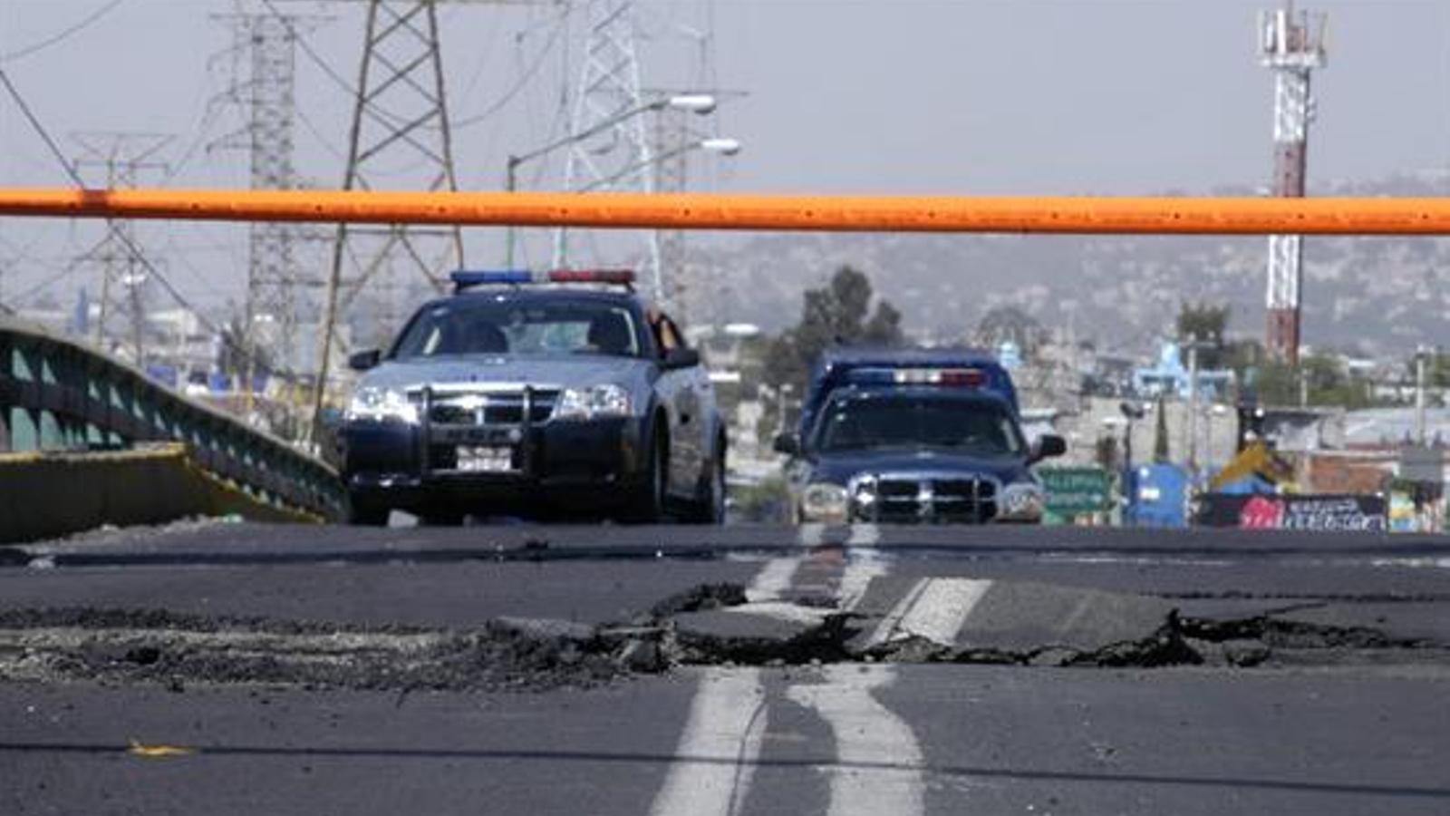 11 ferits i 800 habitatges afectats pel terratrèmol de 7'8 graus en l'escala de Richter de Mèxic