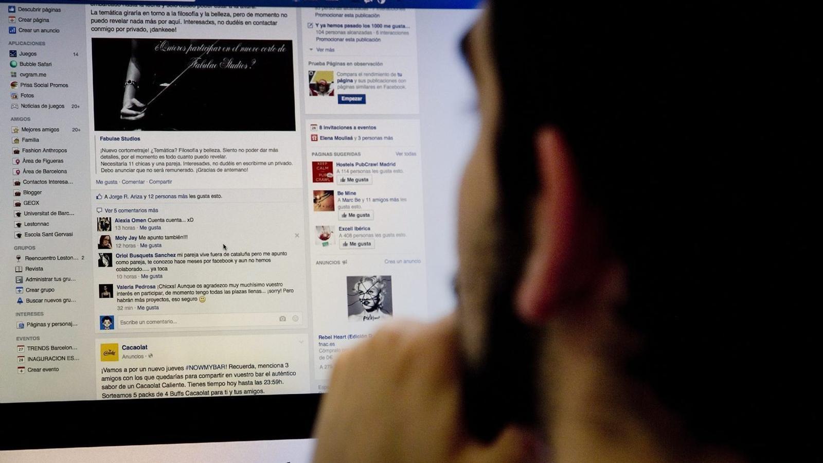 La UE està preocupada per les notícies falses escampades a través de les xarxes socials