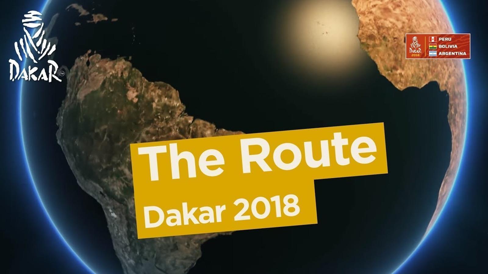 Així serà el Dakar 2018