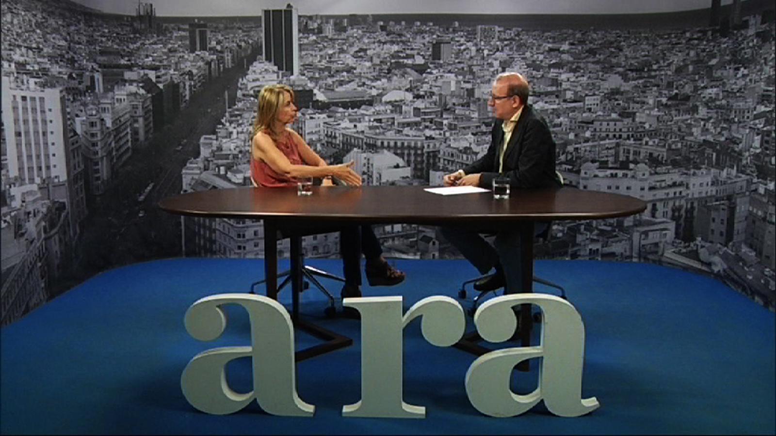 Entrevista d'Antoni Bassas a Montserrat Bernabeu
