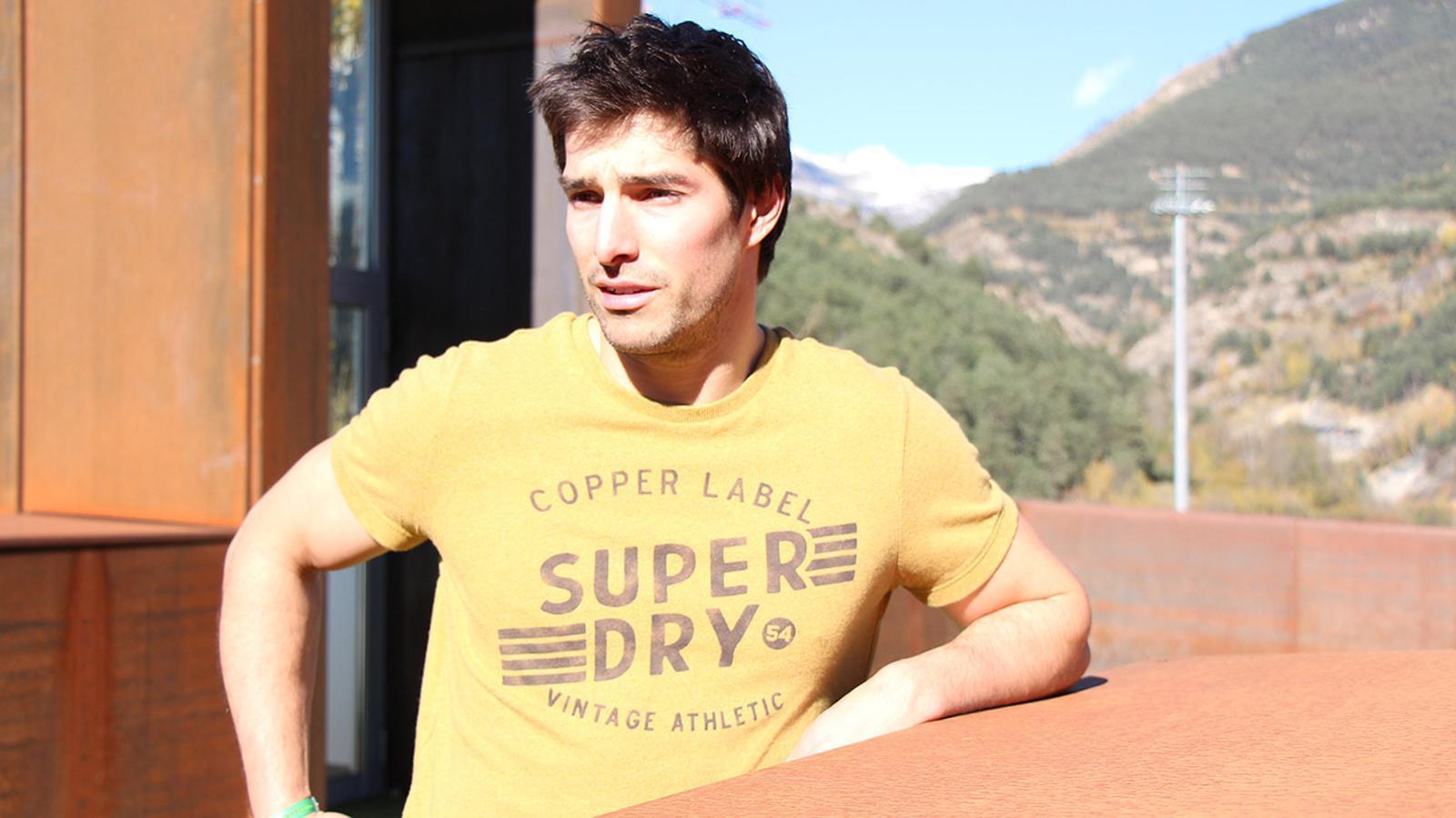 Entrevista al surfista de neu Lluís Marín