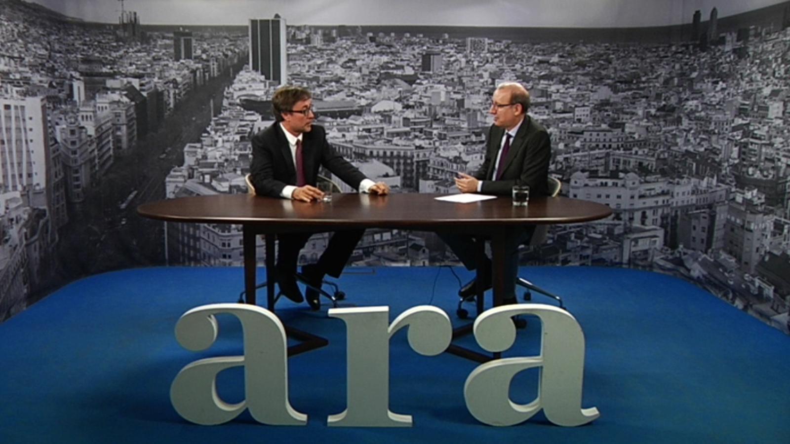 Entrevista d'Antoni Bassas a Agustí Benedito