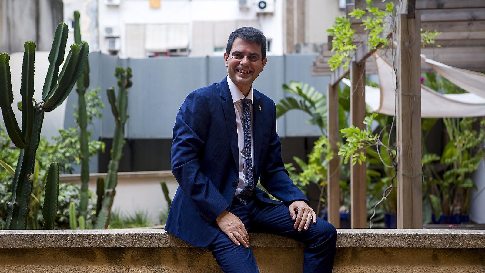 """Marc Castells: """"El projecte de Puigdemont s'ha escorat a l'esquerra i demanem que sigui més central"""""""