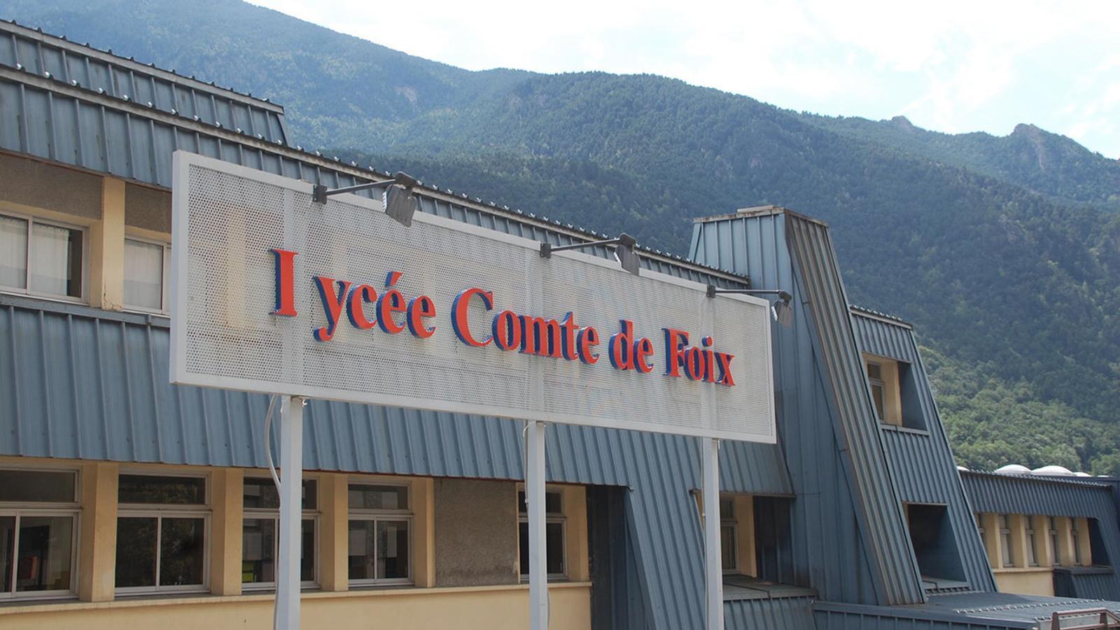 Façana del Lycée Comte de Foix. / ARXIU ANA