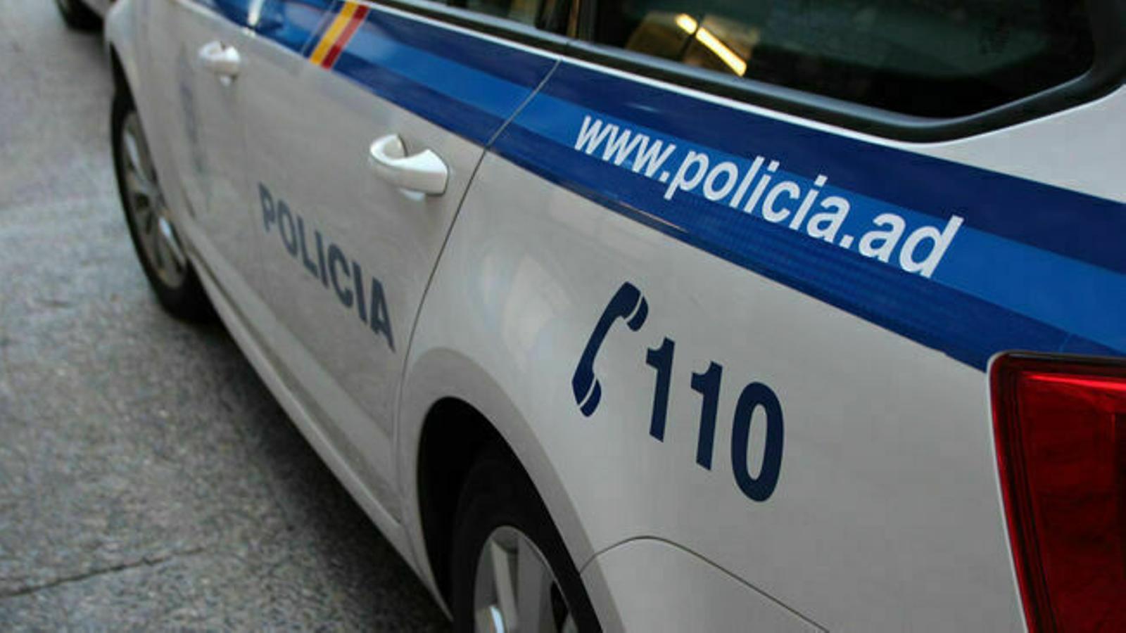 Un cotxe policial. / ARXIU