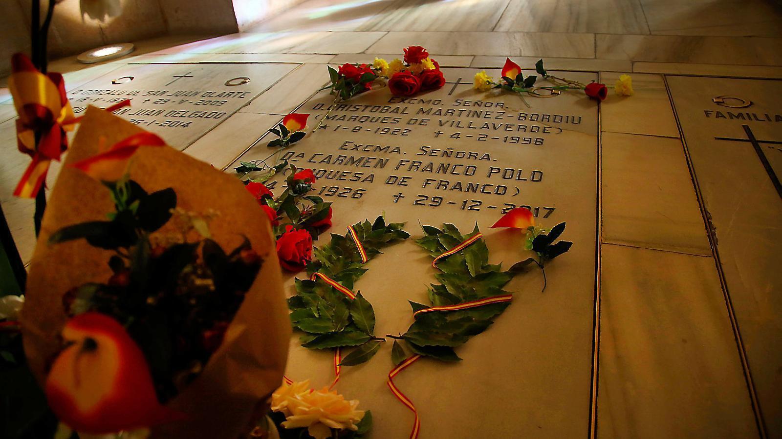 Els Franco a l'Almudena: una cripta de potentats i aristòcrates