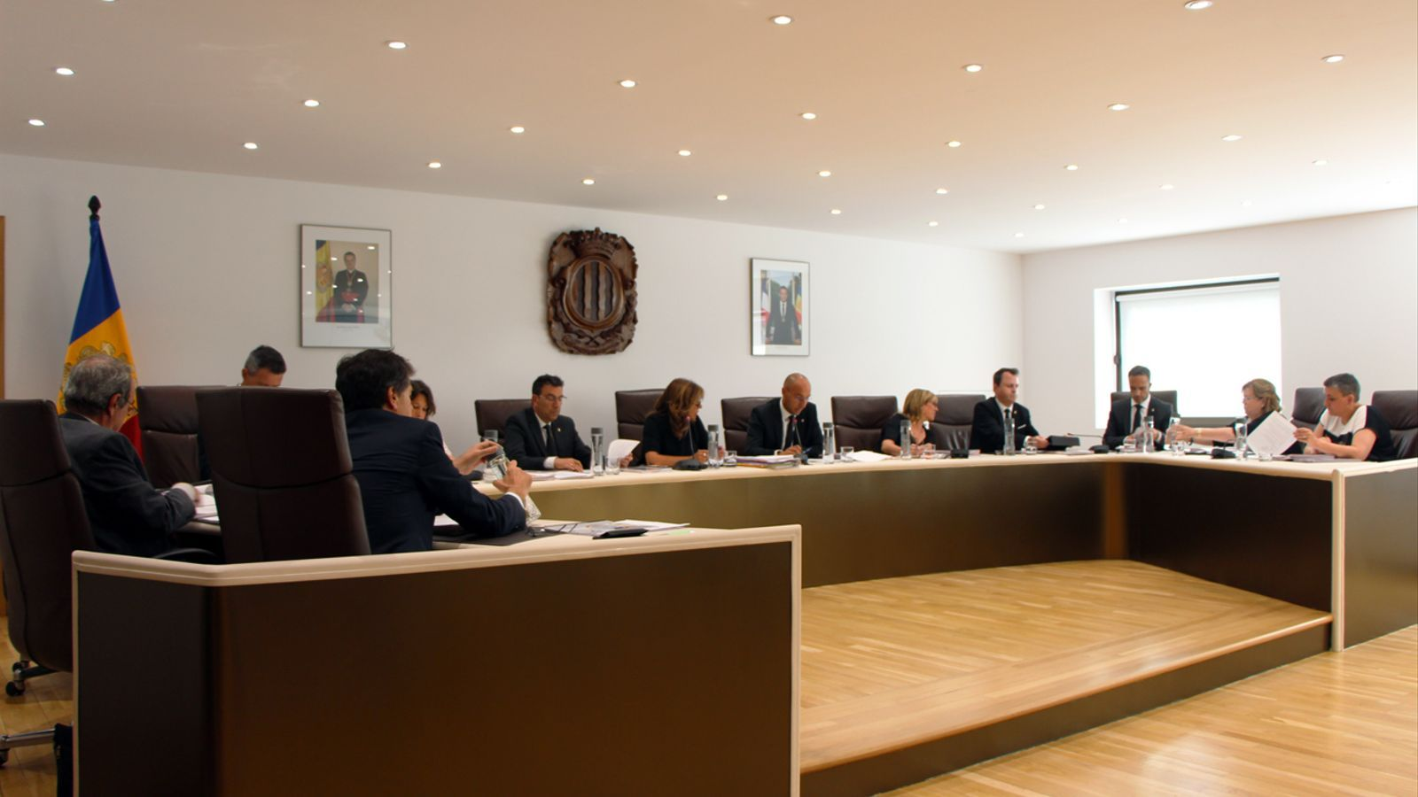 Sessió de consell de comú d'Andorra la Vella. / T. N. (ANA)