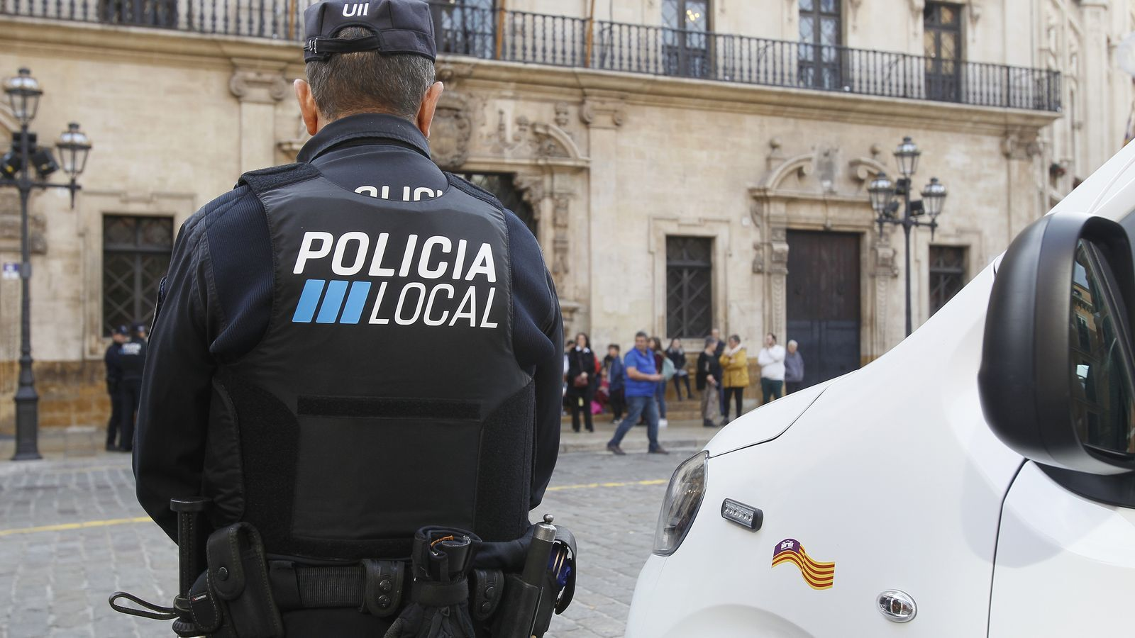Agent de la Policia Local./ ARXIU