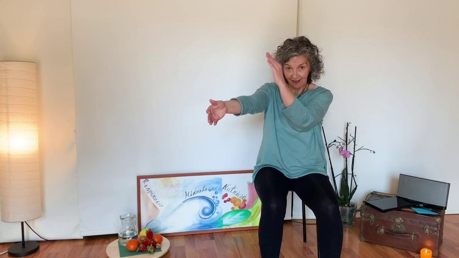Un dels vídeos amb exercicis per a la gent gran