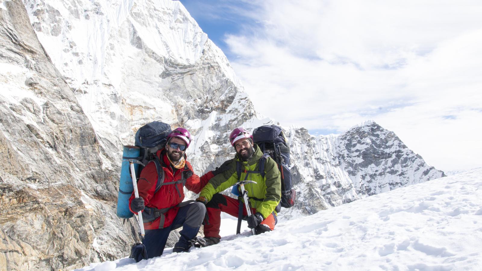 """""""És el més boig que hem fet fins ara: travessar l'Himàlaia a peu i sense assistència"""""""