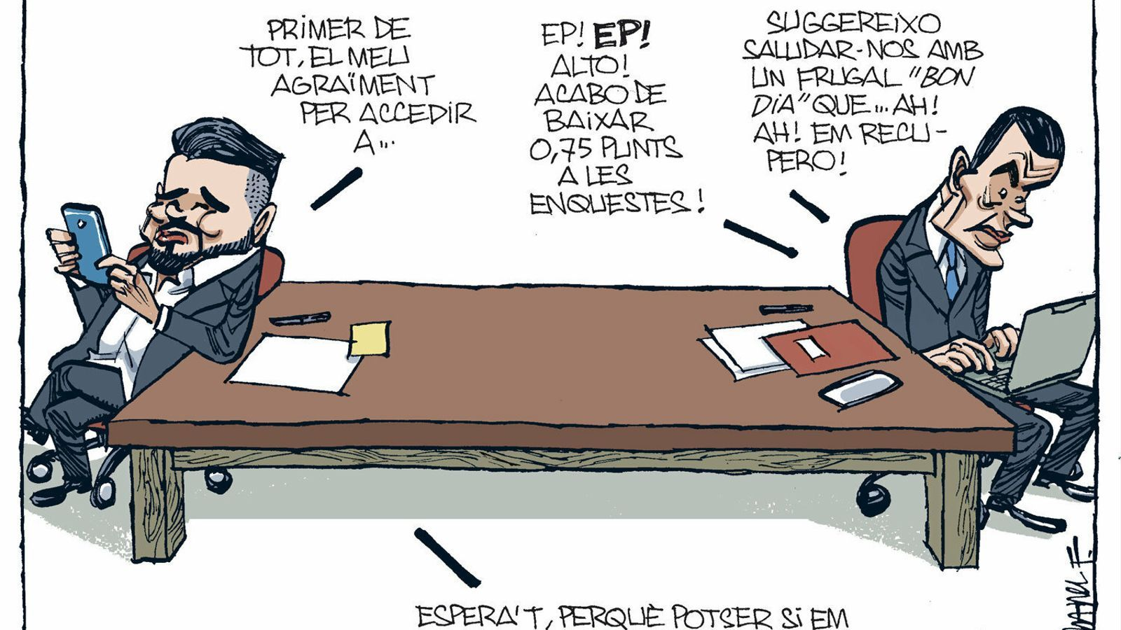 La vinyeta de Manel Fontdevila 01/12/2019