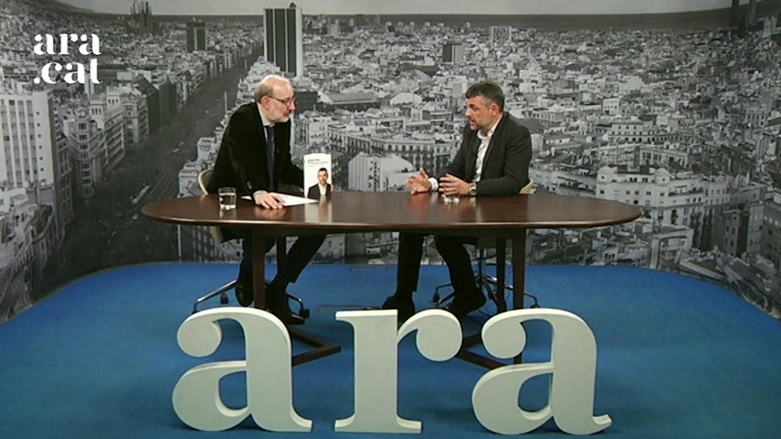 Entrevista d'Antoni Bassas a Santi Vila