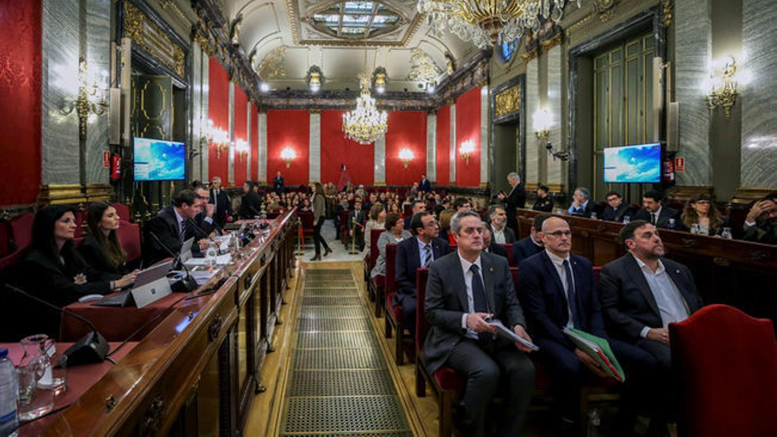 El Suprem condemna els líders independentistes a fins a 13 anys de presó per sedició