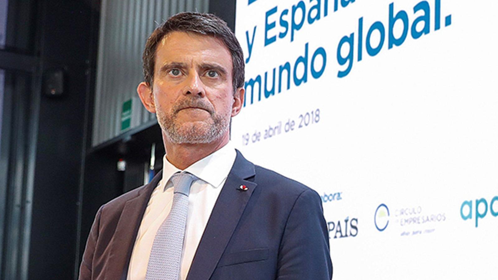 """Valls es desmarca de Cs: """"Jo mai negociaré de manera directa o indirecta la investidura amb cap formació d'extrema dreta"""""""