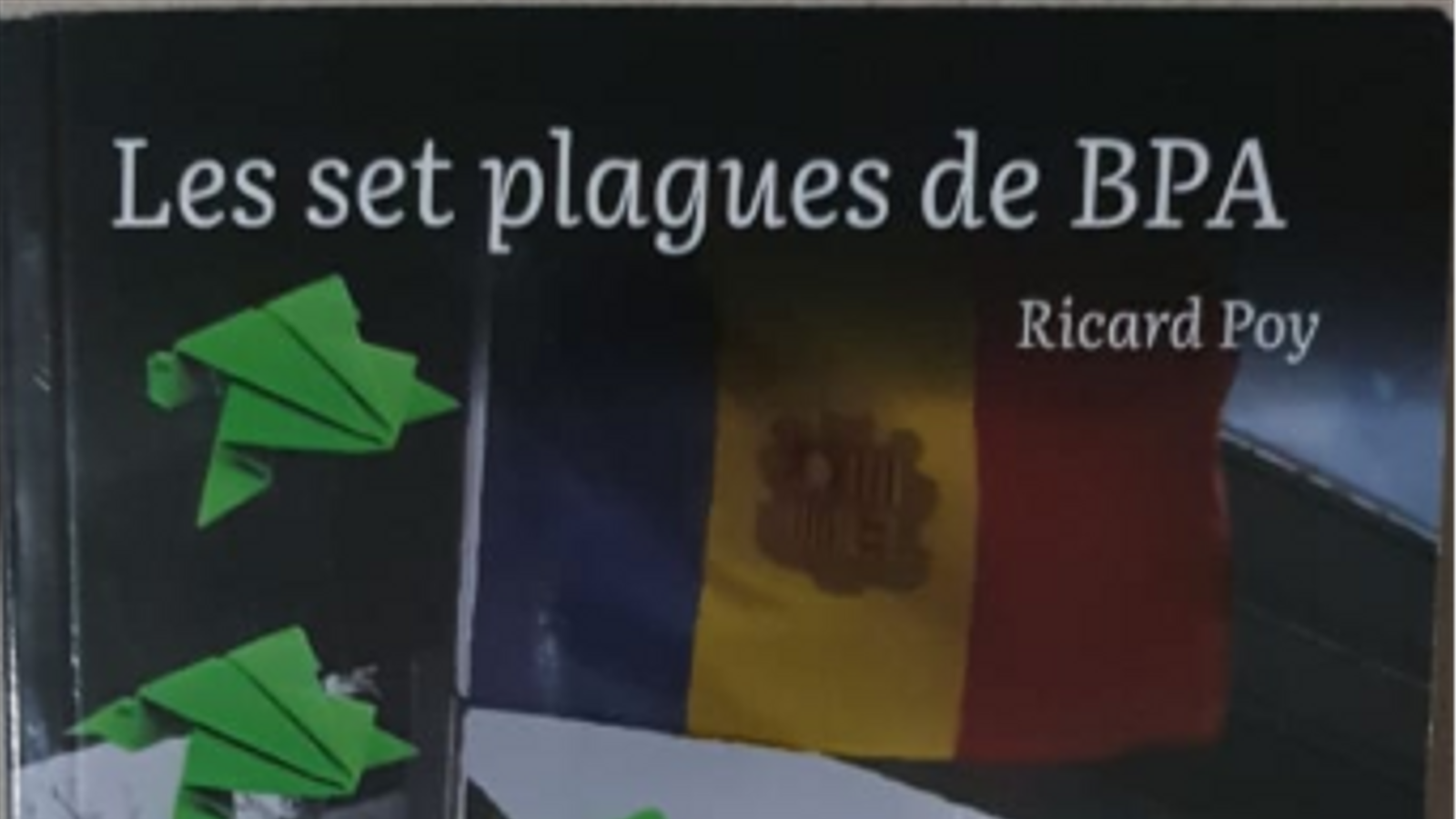 El periodista Ricard Poy presenta 'Les set plagues de BPA'