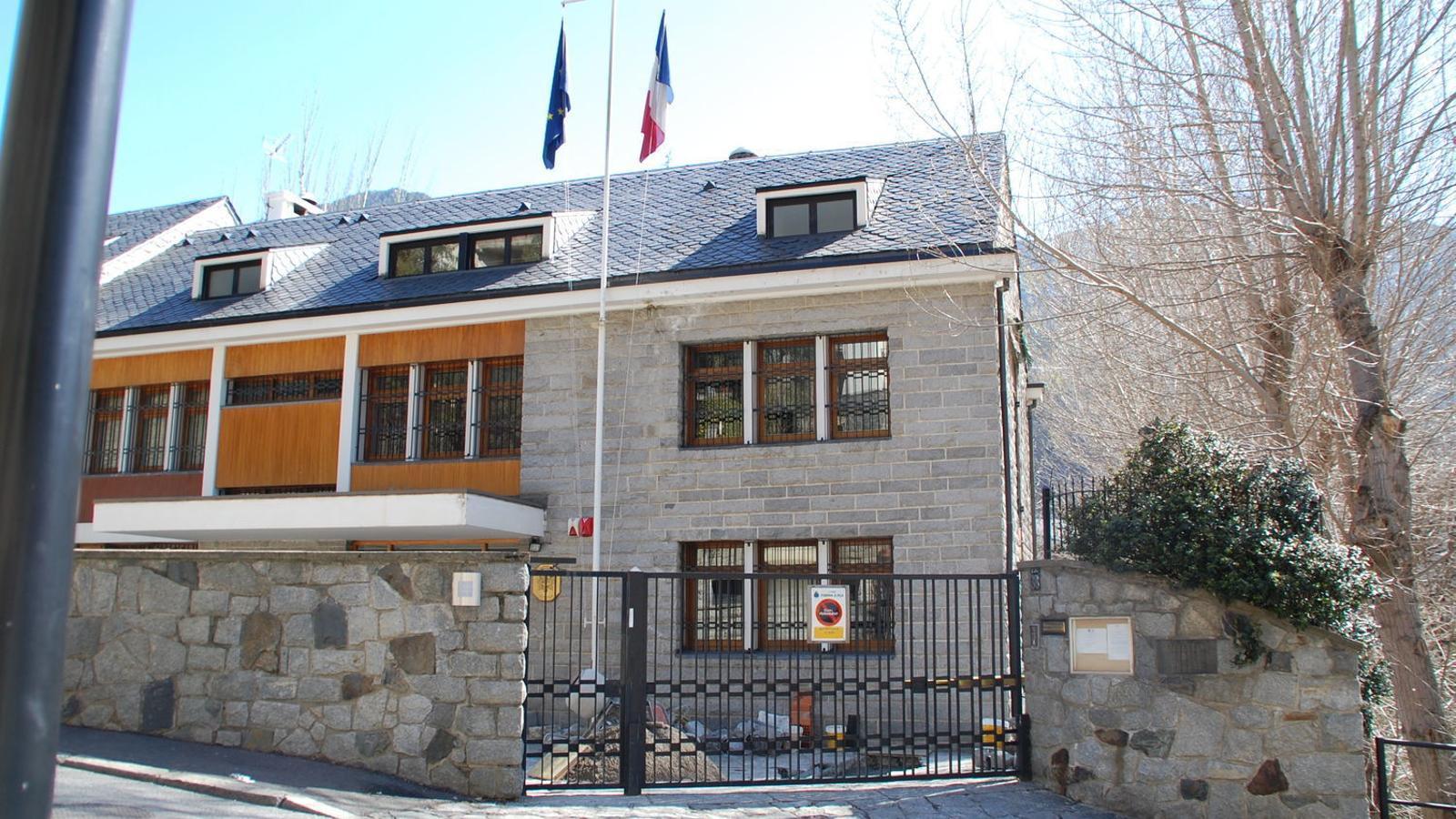L'ambaixada francesa a Andorra. / ARXIU ANA