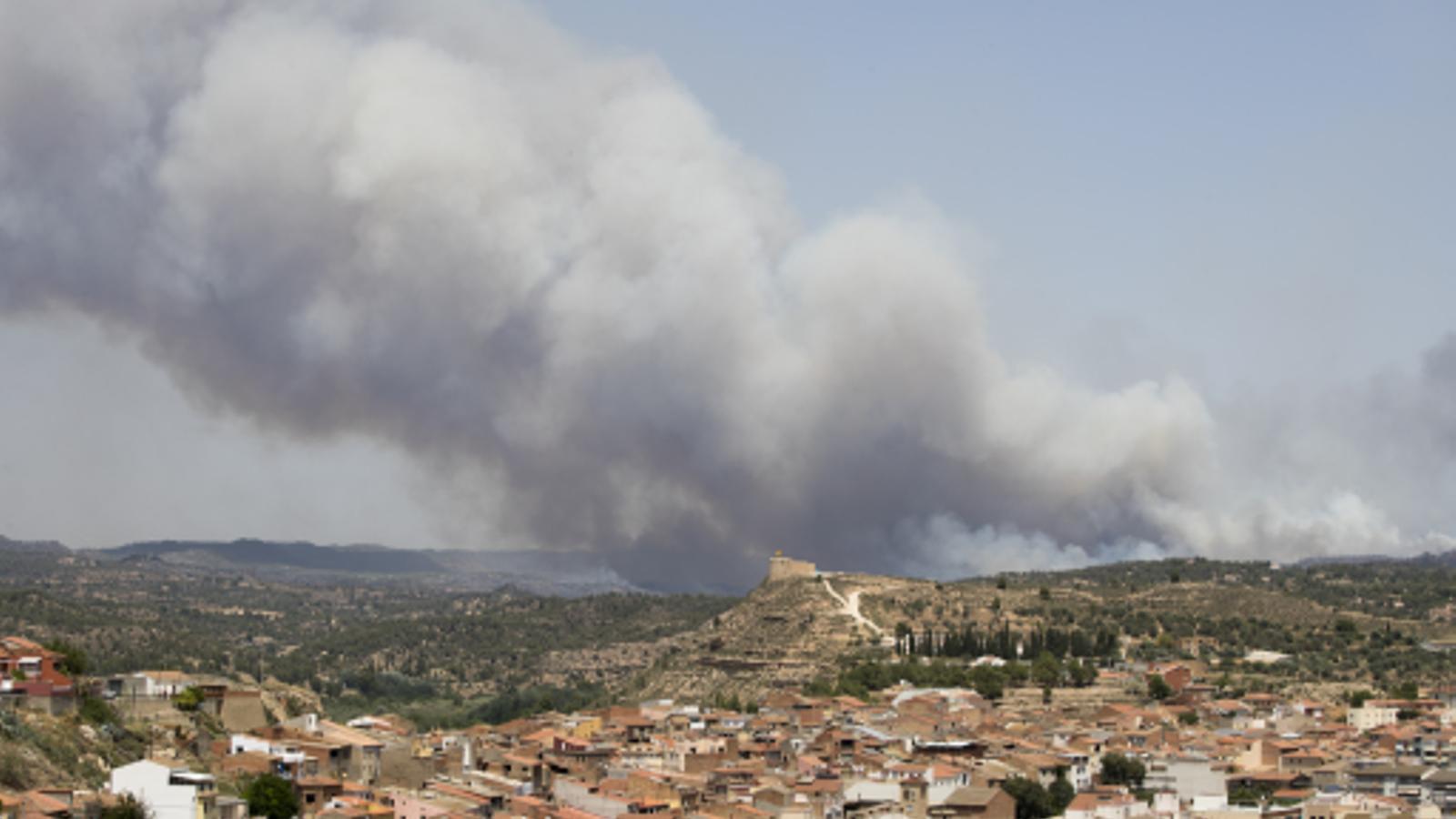 Carta d'un bomber de l'Ebre agraint el suport a la població local
