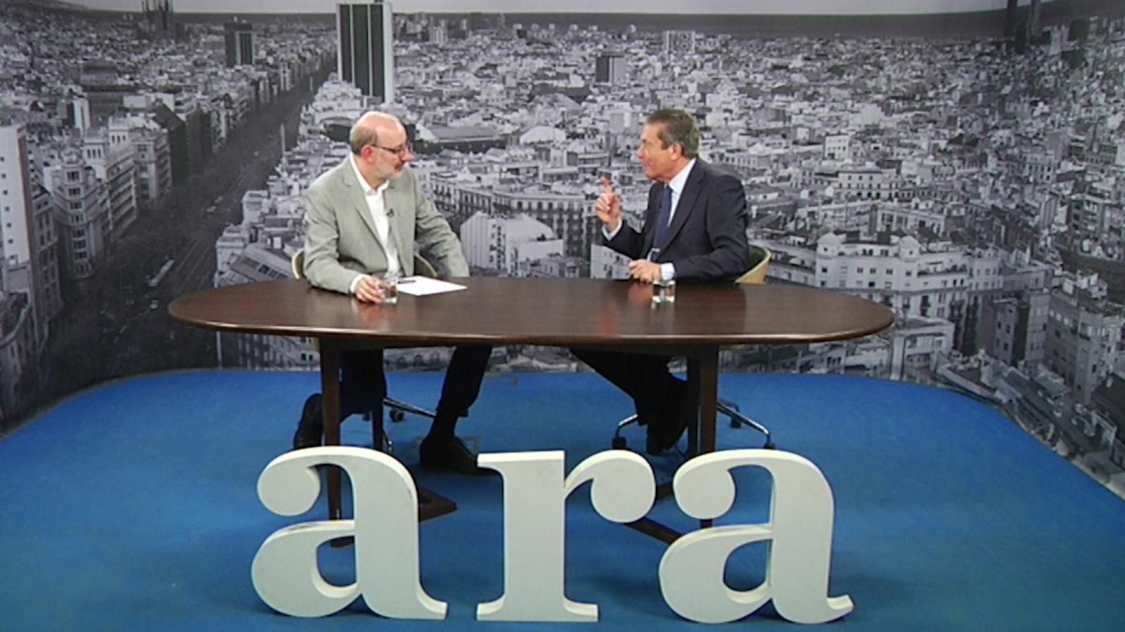 Entrevista d'Antoni Bassas a Federico Mayor Zaragoza