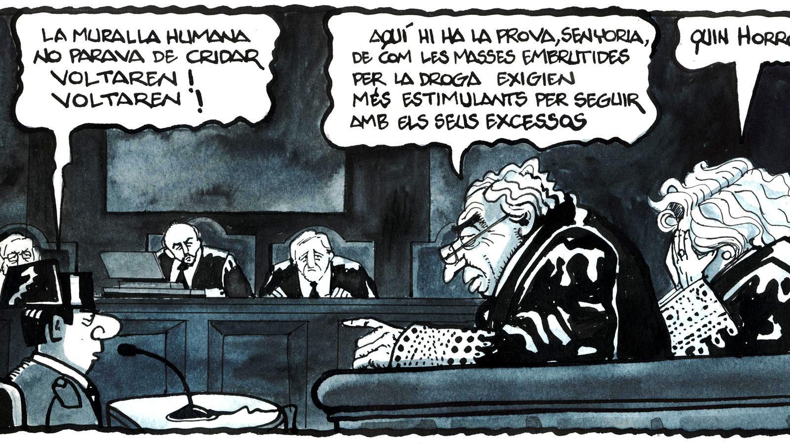 'A la contra', per Ferreres (18 i 19/04/2019)
