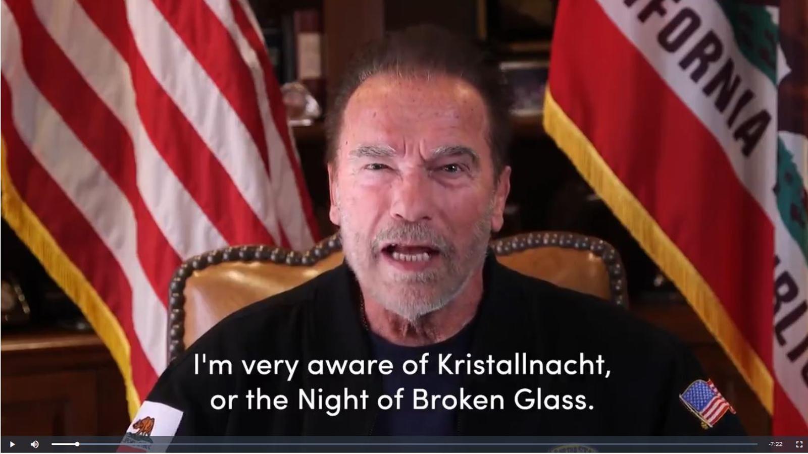 Arnold Schwarzenegger compara el trumpisme amb el nazisme alemany