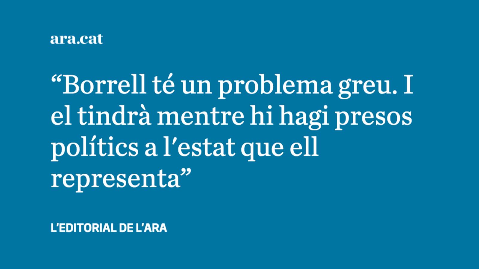 L'antidiplomàcia de Josep Borrell