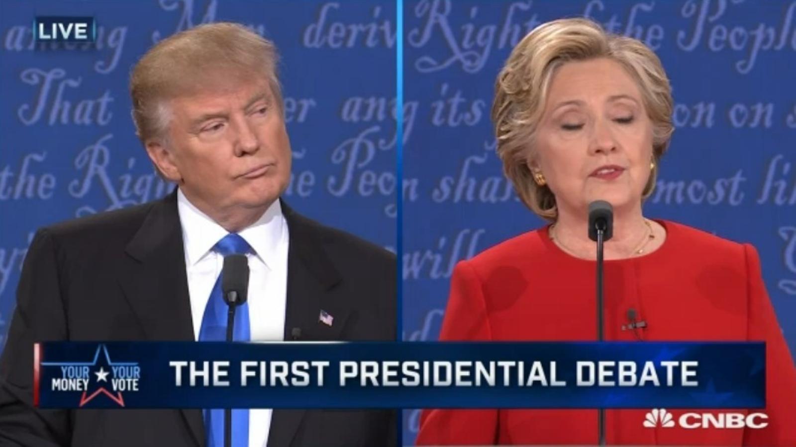Clinton i Trump discuteixen sobre seguretat nacional