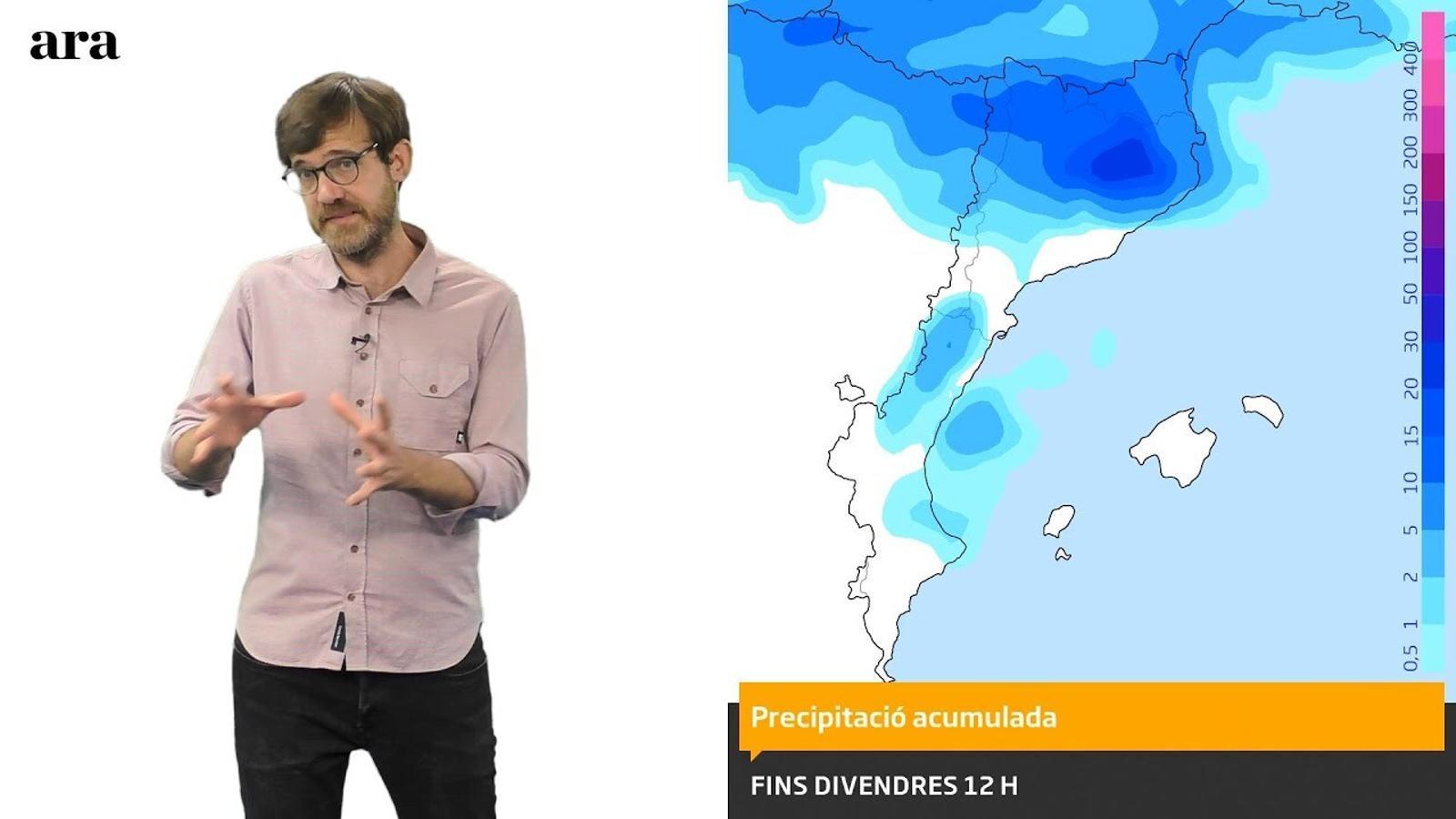 La méteo: tempestes i refrescada abans del cap de setmana