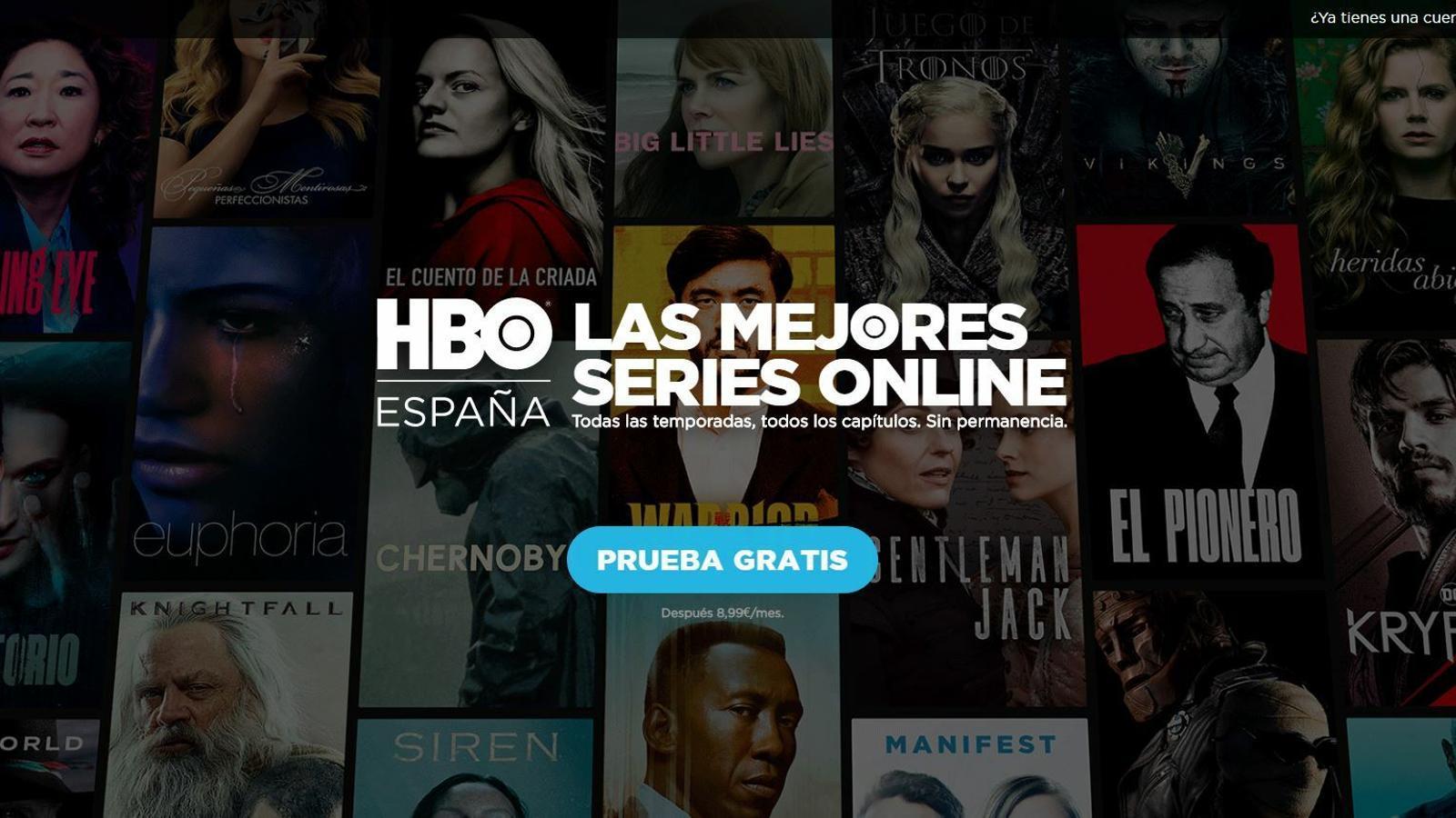 La HBO apuja el preu de la seva tarifa
