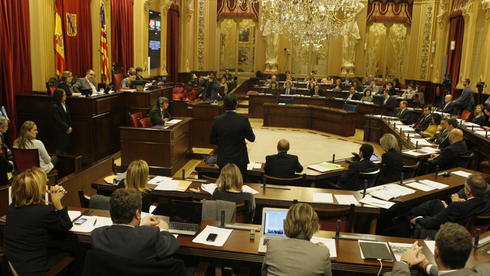Imatge d'arxiu del Parlament de les Illes Balears.