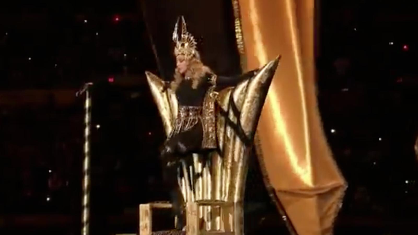 L'actuació de Madonna a la Super Bowl 2012