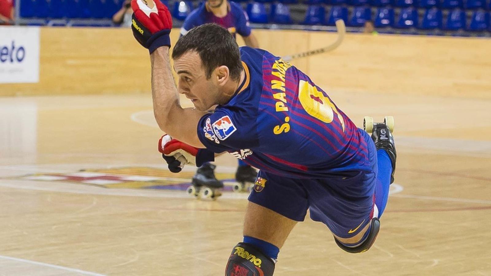 Sergi Panadero, baixa per lesió pel partit davant del Lleida