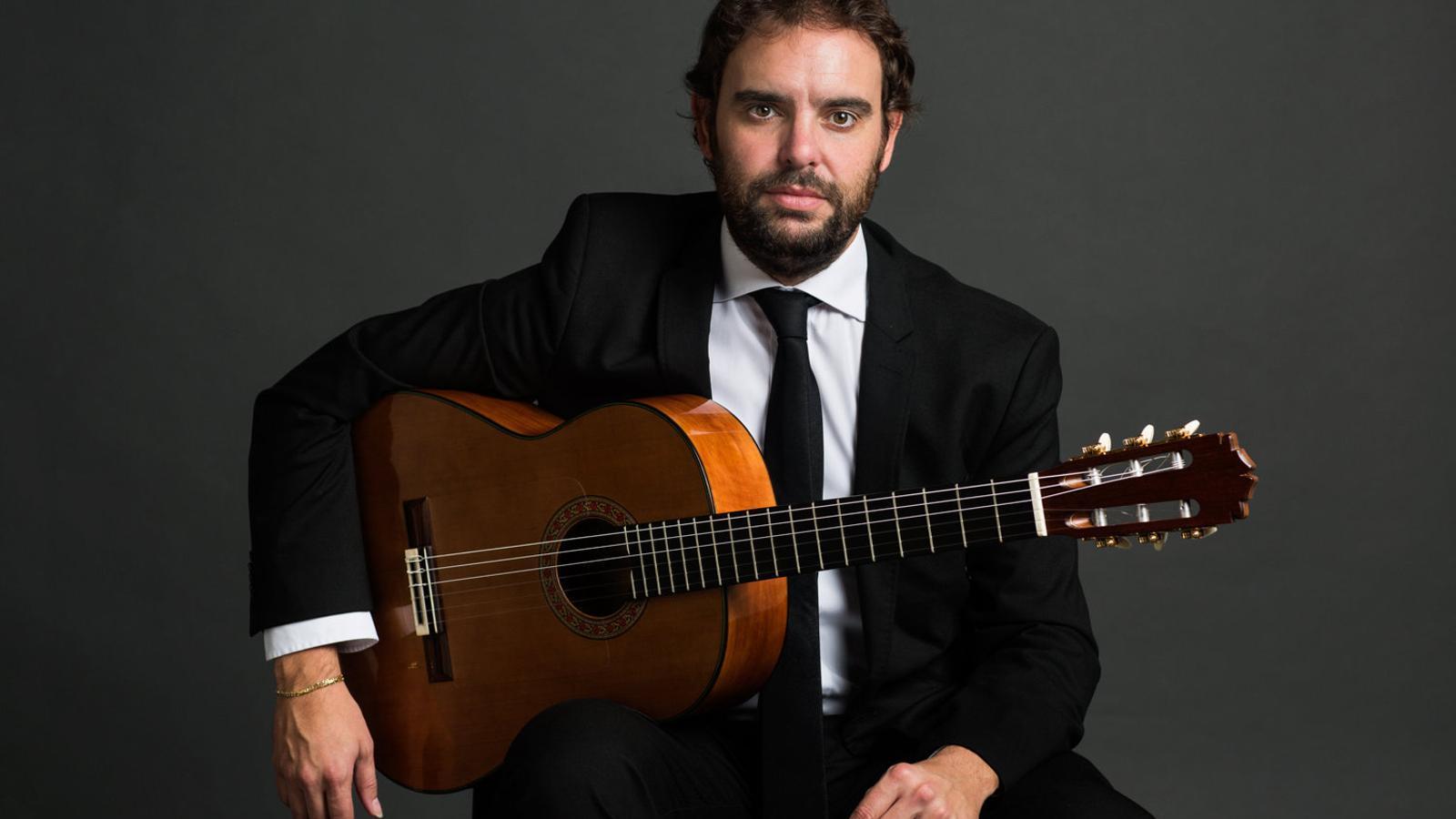 El guitarrista Dani de Morón en una imatge promocional.