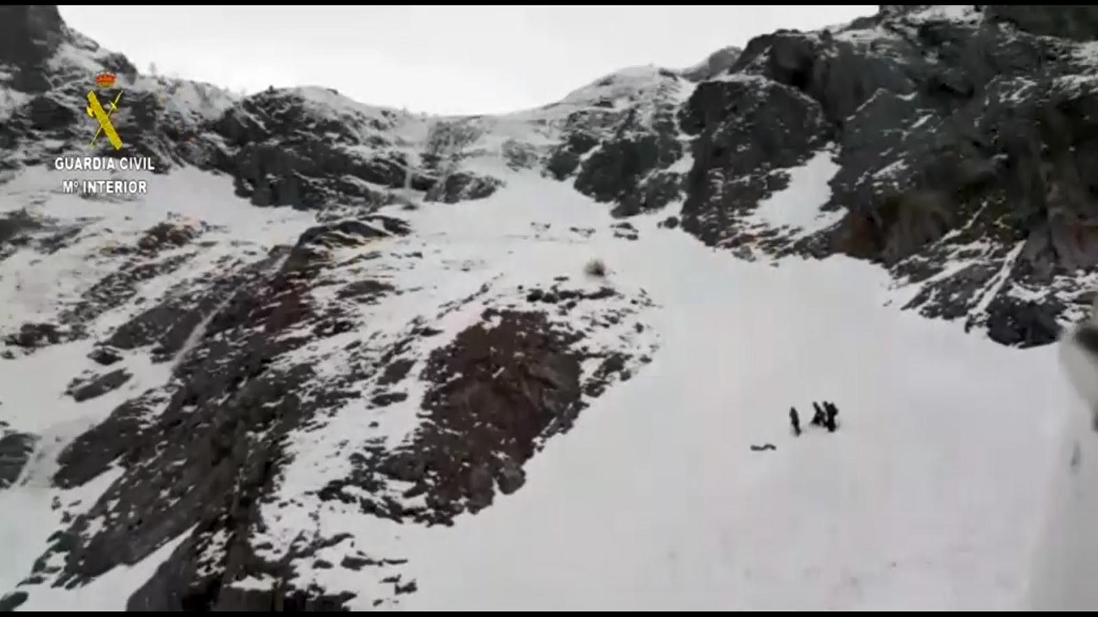 Mor un excursionista francès ala Vall d'Aran