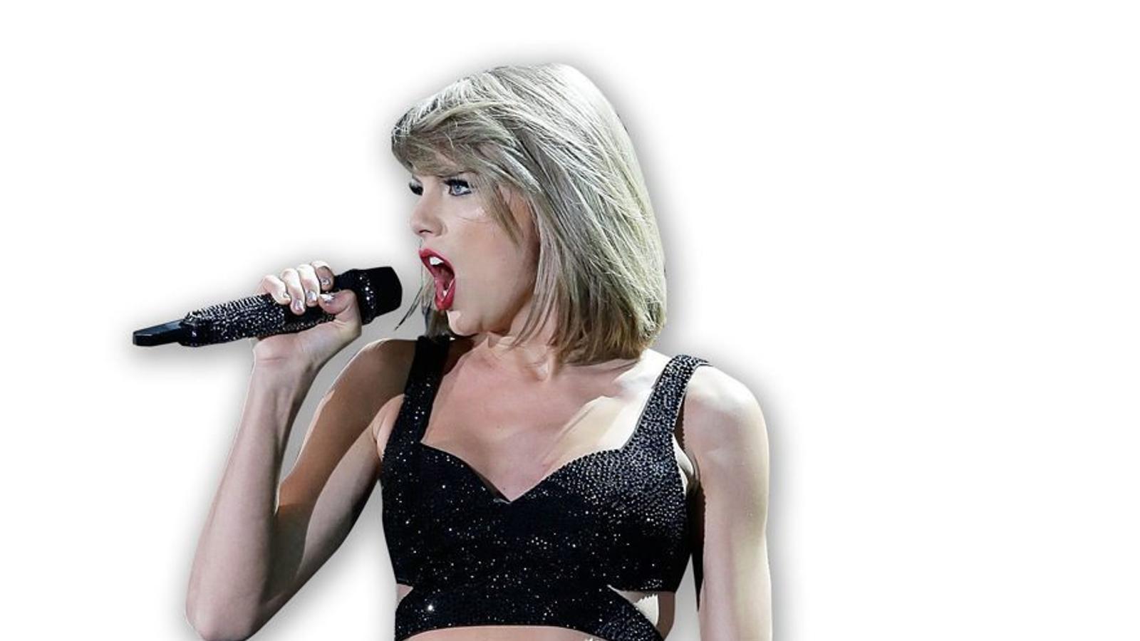 Taylor Swift, la cantant  que guanya més diners