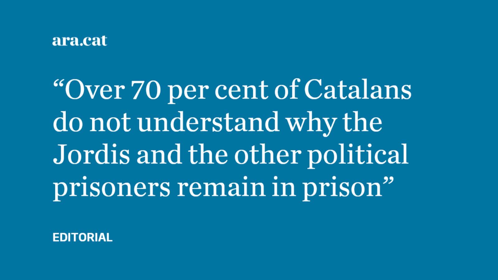 Political prisoners in Spain: when will it end?