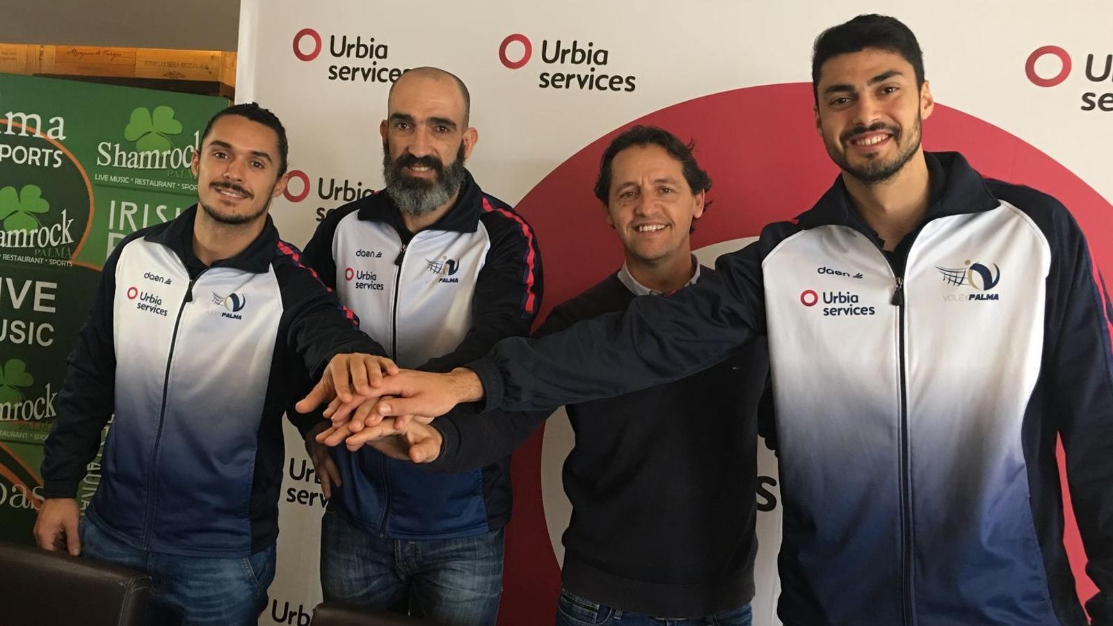 Urbia Services renova el patrocini amb el Volei Palma